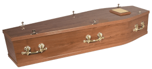 Light Oak Coffin